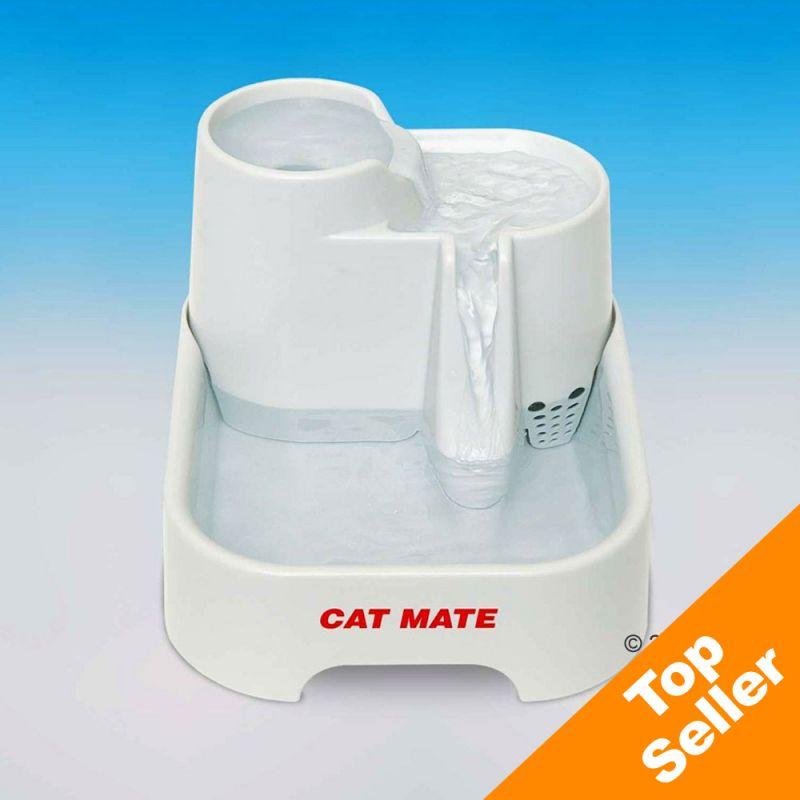 Cat Mate Pet Fountain - White