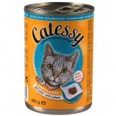Catessy Chunks in Sauce or Jelly 6 x 400g