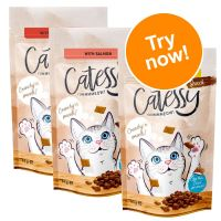 Catessy Crunchy Snacks Mixed Trial Pack 3 x 65g