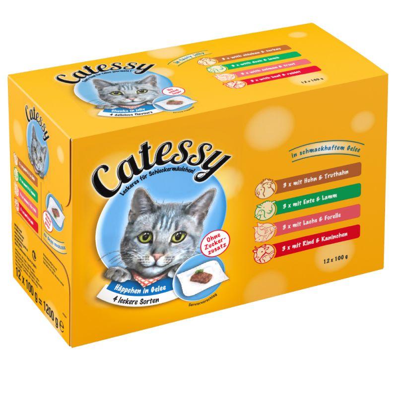Catessy hyytelöllä, monta makua