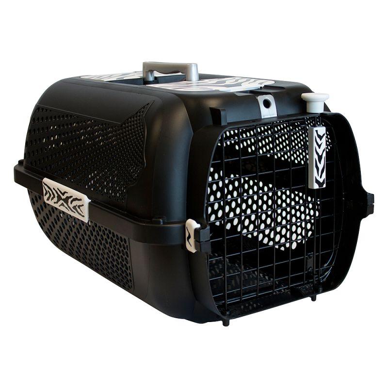 Catit White Tiger Voyageur Black -kuljetuslaatikko