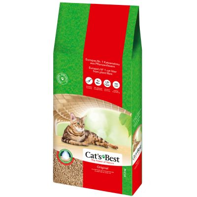 Cat's Best Original areia vegetal aglomerante