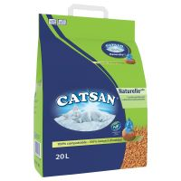 Catsan Naturelle Plus arena vegetal absorbente