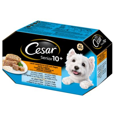 Cesar Senior 10+ - Pack mixto