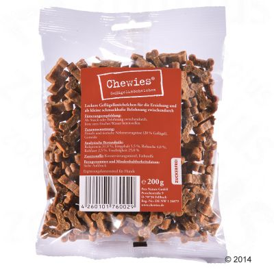 Chewies Bone Treats Mixed Pack 3 x 200g