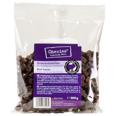 Chewies Bone Treats (Semi-Moist) Mixed Pack 3 x 200g