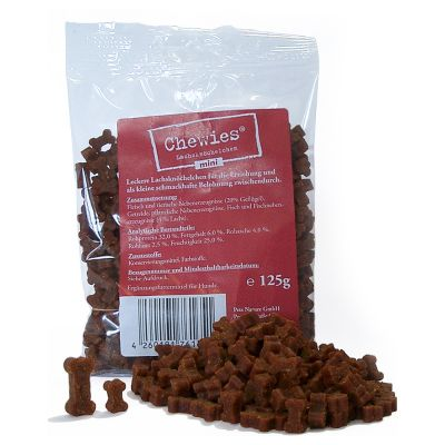 Chewies Mini Bone Treats (semi-moist)