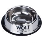 Comedero Wolf of Wilderness de acero para perros