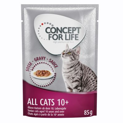 Concept for Life All Cats 10+ en sauce pour chat