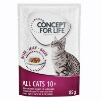Concept for Life All Cats 10+ - in Gelei Kattenvoer