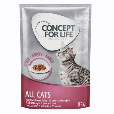 Concept for Life All Cats – in Gravy