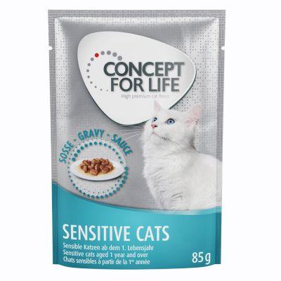 Concept For Life Sensitive Cats In Gravy At Bitiba