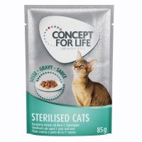 Concept for Life Sterilised Cats – in Gravy