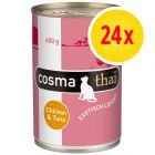 Cosma Thai in Jelly Multibuy 24 x 400g