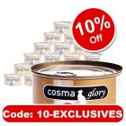 Cosma Glory in Jelly Saver Pack 24 x 170g