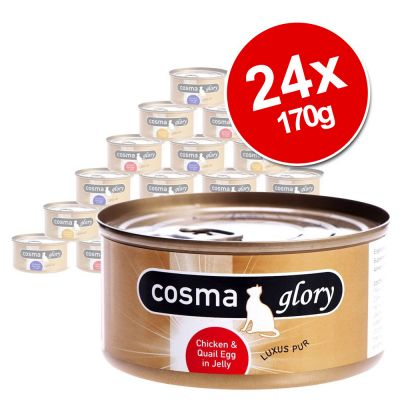 Cosma Glory in Jelly Saver Pack 24 x 170g Wet Cat Food