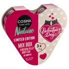 Cosma Nature Heart Box 3 x 70g Valentine's Day Edition