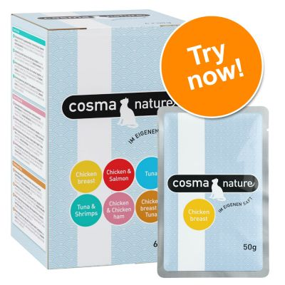 Cosma Nature Pouches Mixed Trial Pack 6 x 50g