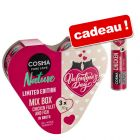 Cosma Nature spécial Saint Valentin 9 x 70 g + Snackies 26 g offerts !
