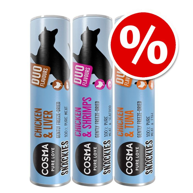 Cosma Snackies DUO 2 in 1 Mixed Pack - Special Price!*