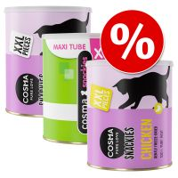 Cosma Snackies XXL – Maxi Tube Saver Pack