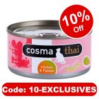 Cosma Thai Fruits 6 x 170g