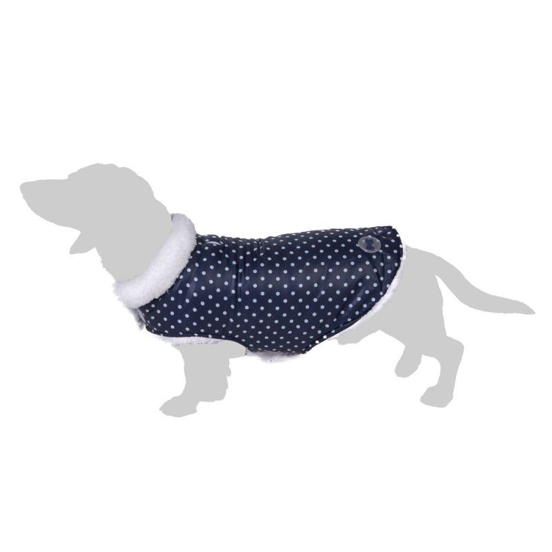 Cozy Polkadots Dog Coat