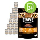 Crave Cat Pouch 24 x 85 g