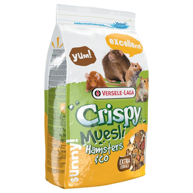 Crispy Muesli - Hamsters & Co