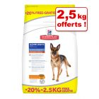 Croquettes Hill's Science Plan 12 kg + 2,5 kg offerts !