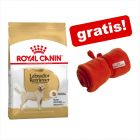 Croquettes Royal Canin Breed + couverture Royal Canin offerte !
