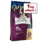 Croquettes Happy Dog Supreme Mini 4 kg + 1 kg offert !
