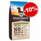 Croquettes Hill's Ideal Balance 2 kg/12 kg : 10 % de remise !