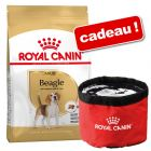 Croquettes Royal Canin Breed 9/12 kg + gamelle de voyage Royal Canin Waterproof