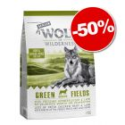 Croquettes Wolf of Wilderness Senior Green Fields, agneau 1 kg : 50 % de remise !