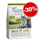 Croquettes Wolf of Wilderness Senior Green Fields, agneau 1 kg : 30 % de remise !