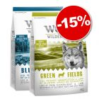 Croquettes Wolf of Wilderness 2 x 1 kg en lot mixte : 15 % de remise !
