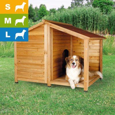 Cuccia Baita Per Cani Con Terrazza Trixie Natura Risparmia Con Bitiba