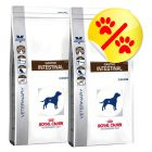 Dobbeltpakke Royal Canin Veterinary Diet, Gastro Intestinal