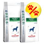 Dobbeltpakke Royal Canin Veterinary Diet, Satiety Suport