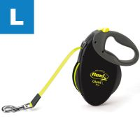 Dog Lead flexi Neon - Large 8m