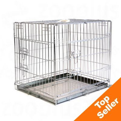 Double Door Transport Cage  sc 1 st  zooplus & Metal Dog Crates: Great Deals on Dog Cages u0026 Dog Travel at zooplus ...
