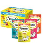 Dreamies Selection Box 4 x 30g