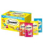 Dreamies Selection Box (kylling, ost, laks, okse)