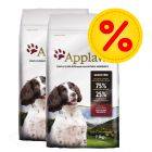 Dubbelpack: 2 påsar Applaws Small & Medium Breed hundfoder till lågpris!