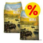 Dubbelpack: 2 x 13 kg Taste of the Wild hundfoder