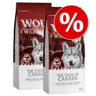 Dubbelpak: 2 x 12 kg Wolf of Wilderness