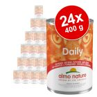Ekonomično pakiranje Almo Nature Daily Menu 24 x 400 g