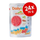 Ekonomično pakiranje Almo Nature Daily Menu 24 x 70 g
