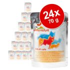 Ekonomično pakiranje Almo Nature Jelly 24 x 70 g